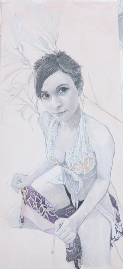 Customize Colour Pencil Drawing from Photo